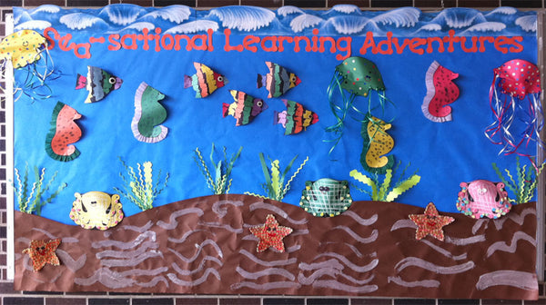 Quot Sea Sational Learning Adventures Quot Ocean Bulletin Board
