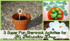 3 Super Fun Shamrock Activities for St. Patrick's Day!