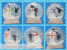 """Life in a Snow Globe"" Winter Writing Craftivity & Display!"