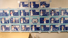 """Snowmen At Night"" Craft, Activity, & Bulletin Board Idea"