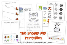 The Snowy Day Preschool Pack!