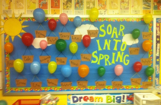 Soaring To Success End Of The Year Bulletin Board