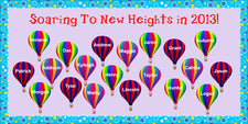 Soaring To New Heights in 2013! - New Years Bulletin Board