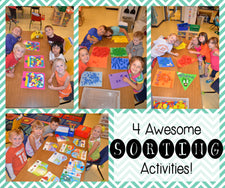 4 Awesome Sorting Activities!