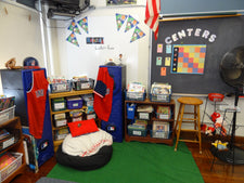 Sports Themed Elementary Classroom Decorating Ideas