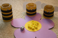 Bee Themed Pollen Counting Activity