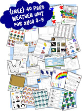 Weather Printables for Preschoolers