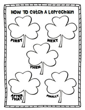 """How To Catch A Leprechaun"" Printable Graphic Organizer"
