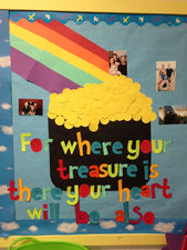 Where Your Treasure Is There Your Heart Will Be Also!