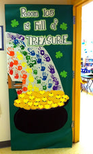 Full of Treasure! - St. Patrick's Day Door Display