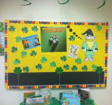 Books Bring Good Luck! - St. Patrick's Day Library Display
