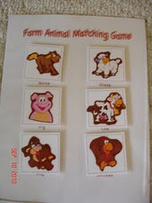 Sticker Matching & Memory Games