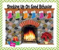 Stocking Up On Good Behavior - Christmas Behavior Management Idea