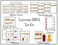 Summer BBQ Printable Pack