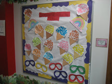 """Summer Is Sweet In Preschool!"" Bulletin Board Idea"