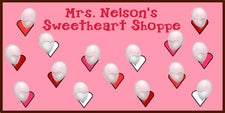 Sweetheart Shoppe - Valentine's Day Bulletin Board Idea
