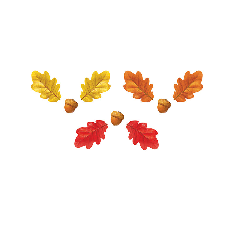 Fall Oak Leaves & Acorns Classic Accents® Variety Pack