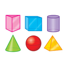 3-D Shapes Mini Accents Variety Pack