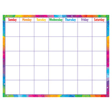 Color Splash Wipe-Off® Calendar – Monthly