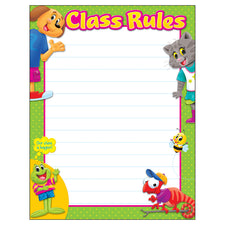 Class Rules Playtime Pals™ Learning Chart