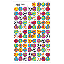 BlockStars!™ Soccer Balls superSpots® Stickers