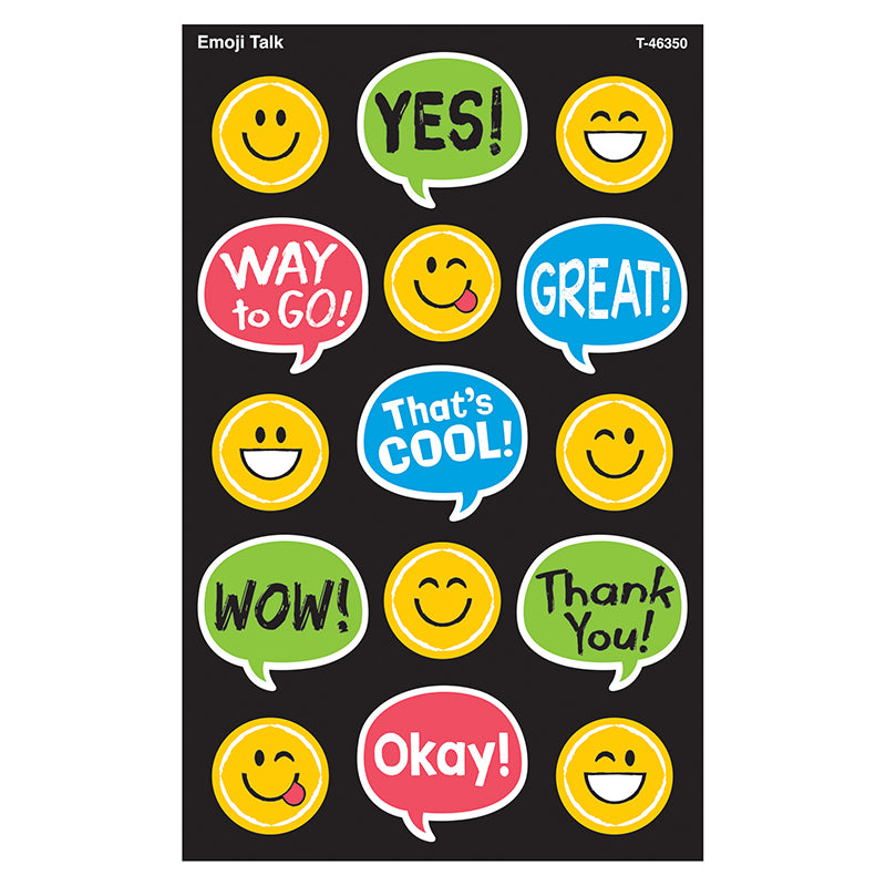 Emoji Talk superShapes Stickers – Large