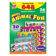 Animal Fun Sparkle Stickers® Variety Pack