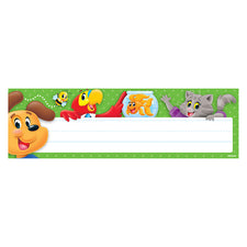 Playtime Pals™ Desk Toppers® Name Plates