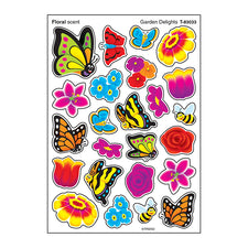 Garden Delights Stinky Stickers® (Floral) – Mixed Shapes