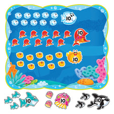 Sea Buddies™ 0-120 Bulletin Board Set
