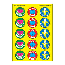 Friendly Fruit Stinky Stickers® (Fruit Punch) – Large Round