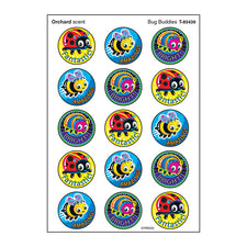 Bug Buddies Stinky Stickers® (Orchard) – Large Round