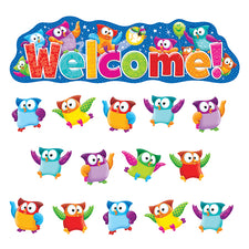 Owl-Stars!® Welcome Bulletin Board Set