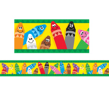 Colorful Crayons Bolder Borders®