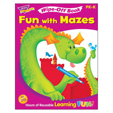 Trend Enterprises Fun with Mazes Wipe-Off® Book