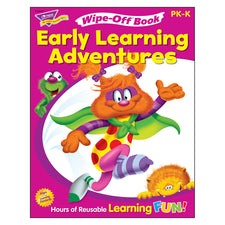Trend Enterprises Get Ready for Kindergarten 1 (Furry Friends®) Wipe-Off® Book