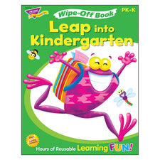 Trend Enterprises Get Ready for Kindergarten 2 (Frog-tastic!®) Wipe-Off® Book