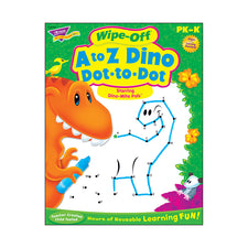 A to Z Dino Dot-to-Dot Dino-Mite Pals™ Wipe-Off® Book