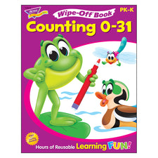 Trend Enterprises Counting 0-31 Wipe-Off® Book