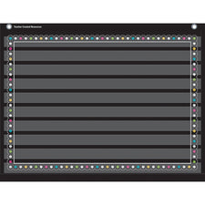 Chalkboard Brights Mini 10 Pocket Chart