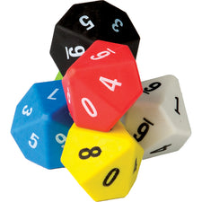 10 Sided Dice 6-Pack