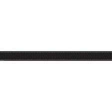 Black Stitch Straight Bulletin Board Border Trim