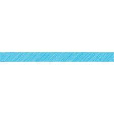 Aqua Scribble Straight Bulletin Board Border Trim