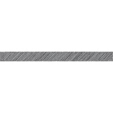 Black Scribble Straight Bulletin Board Border Trim