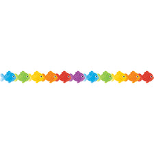 Colorful Fish Die-Cut Bulletin Board Border