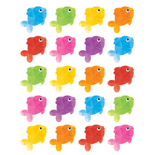 Colorful Fish Stickers