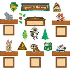 Ranger Rick Ranger of the Week Mini Bulletin Board Set