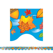 Autumn Scalloped Border Trim