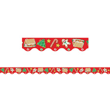 Christmas Bulletin Board Border, Scalloped
