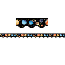 Solar System Scalloped Border Trim